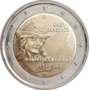 San-Marino-2-euro-2016-Donatello-UNC-in-blister